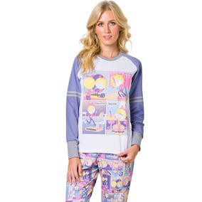 5af790555 Pijama Calça Flare Adulto - Jardin Du Luxembourg