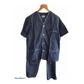 Pijama Camisero Manga Corta Talle 52 Típico