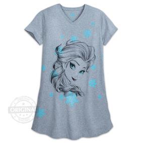c9d04491d10041 Pijama Camisola Disney Store Feminino Elsa Frozen Dormir