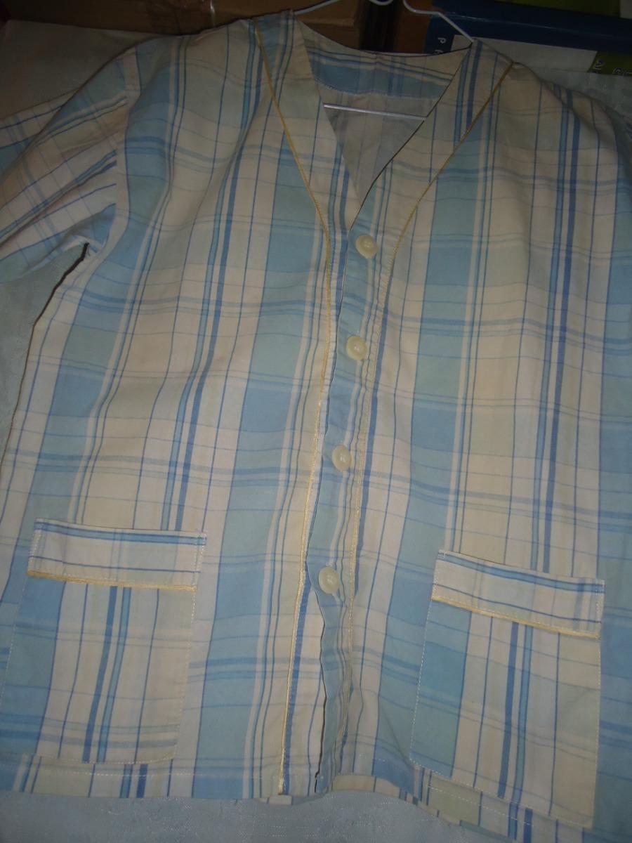 3c9710b803 pijama casaca con botones y short de niño talle 12. Cargando zoom.
