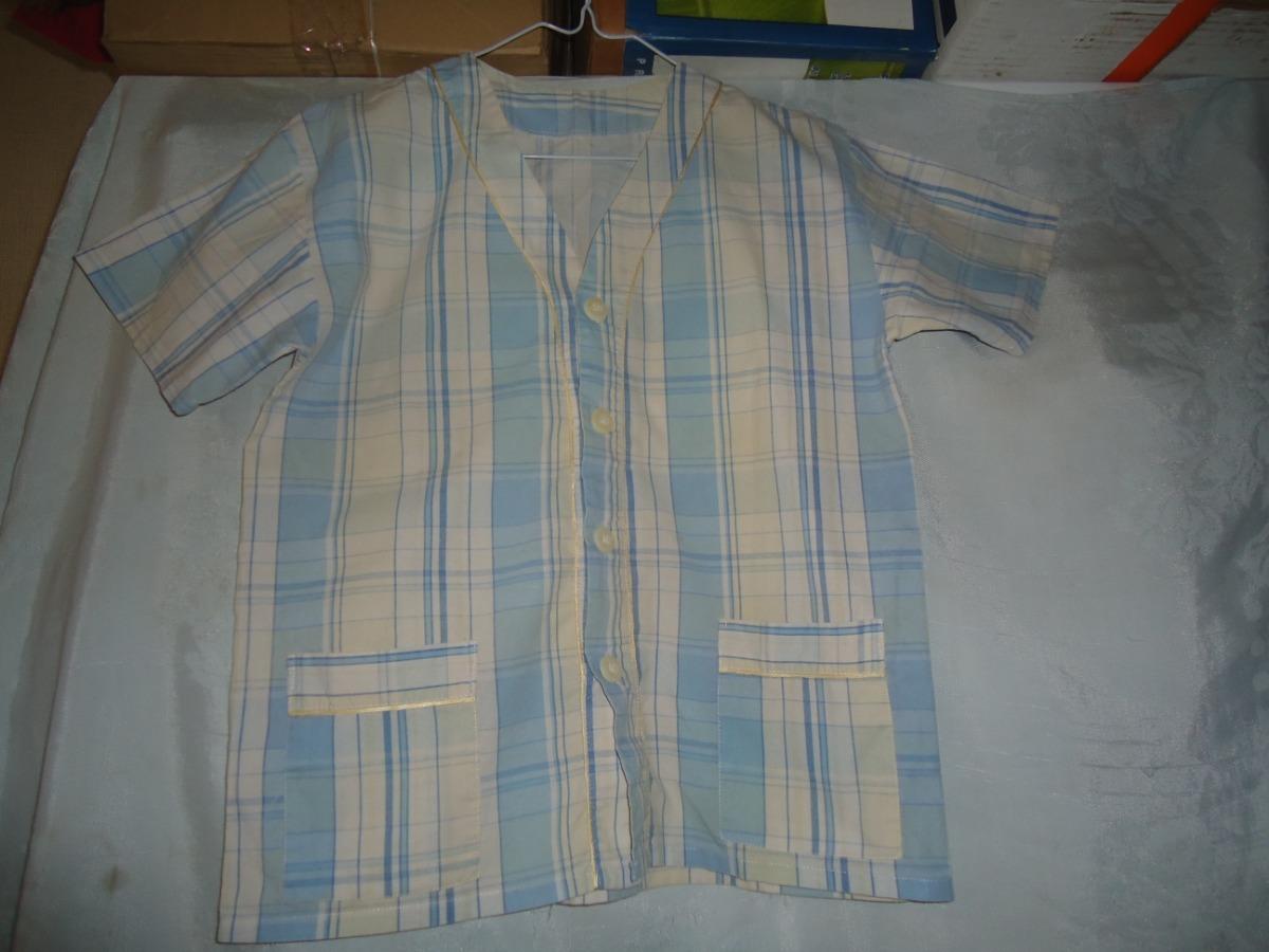 1ff9f1e5d Pijama Casaca Con Botones Y Short De Niño Talle 12 -   200