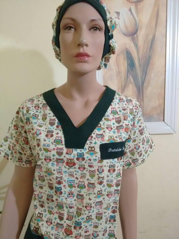 Pijama Cirúrgico Estampado bceafb0e243
