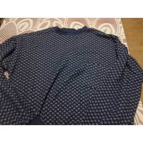 Pijama Clasico Color Azul
