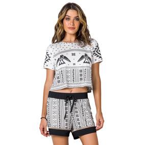 c60508292f56ca Pijama Cropped Adulto - Arc De Trionphe