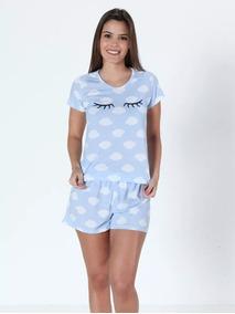 ecf985cc5 Pijamas Feminino Sonho Bom - Moda Íntima e Lingerie no Mercado Livre Brasil