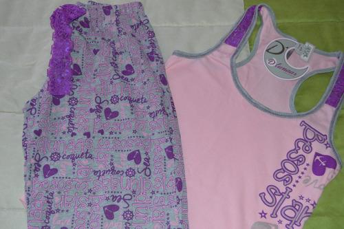 pijama de dama talla s/m