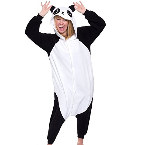 bc10c97b4 Pijama De Disfraz De Halloween Adulto Panda Kigurumi -   200.000 en ...