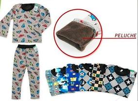 5944ad99c Pijama De Invierno Para Nene De Plush Super Abrigado Y Suave