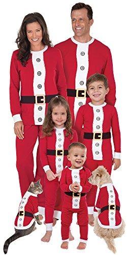 guapo siempre popular producto caliente Pijama De Juego De Santa Para Toda La Familia, Perros Extra ...