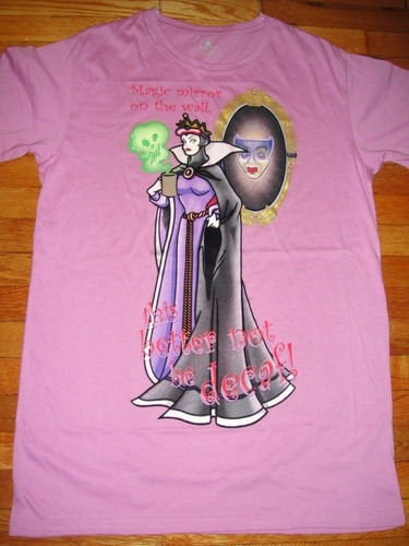 pijama de la reina malvada  disney talla unica mujer ( 745 )