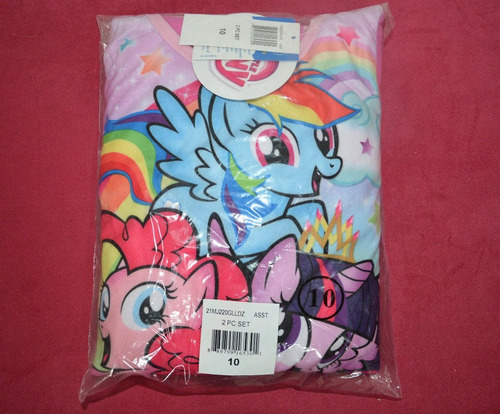 pijama de little pony