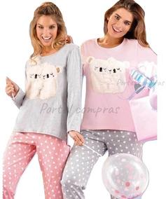 0d3d9424ed Pijamas De Invierno Importados Mujer - Ropa de Dormir en Mercado Libre  Argentina