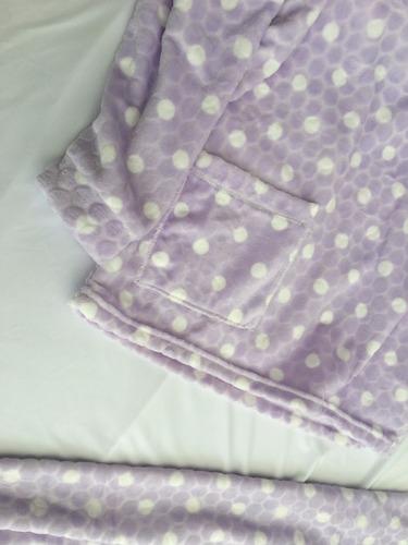 pijama de mujer térmica , peluche