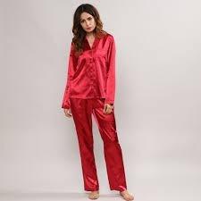 proporcionar un montón de Venta de liquidación mejores marcas Pijama De Satén , Raso , Invierno Mujer