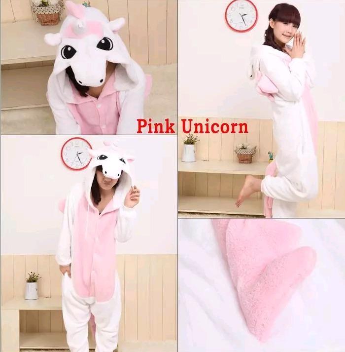 4082686c6e Pijama De Unicornio Para Chicas + Pantuflas Envios Gratis -   2.450 ...