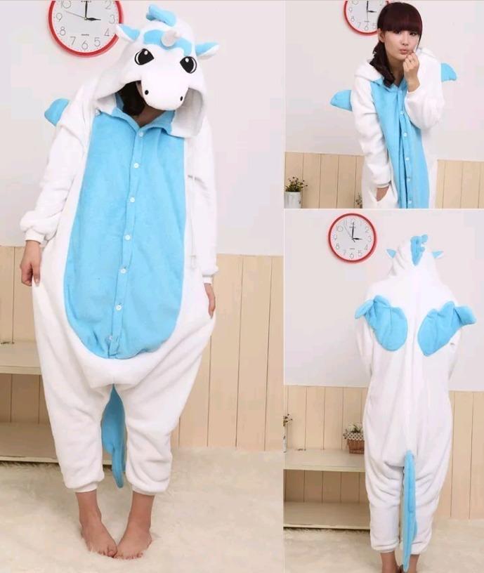 0011ffa3cc pijama de unicornio para chicas + pantuflas envios gratis. Cargando zoom.