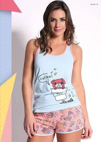 cc5f8edd34 Pijama De Verano Para Niña Marca Wol Meli Mujer - Pijamas en Mercado ...