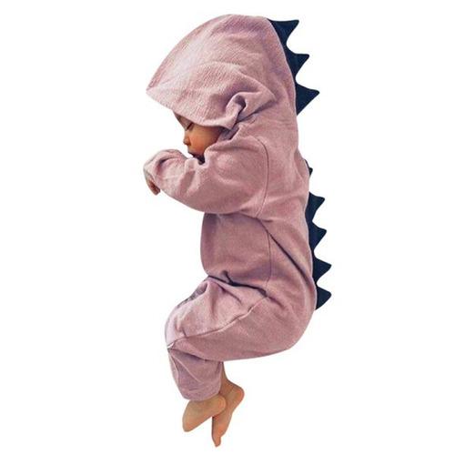 pijama dinosaurio para bebé de algodón