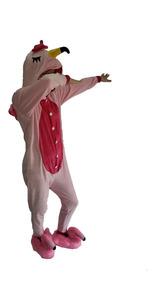424d209295acb4 Pijama Dinossauro / Flamingo Macacão Kigurumi Pronta Entrega