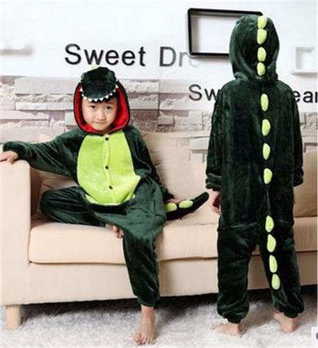 pijama disfraz dinosaurio niños - 115cm-125cm