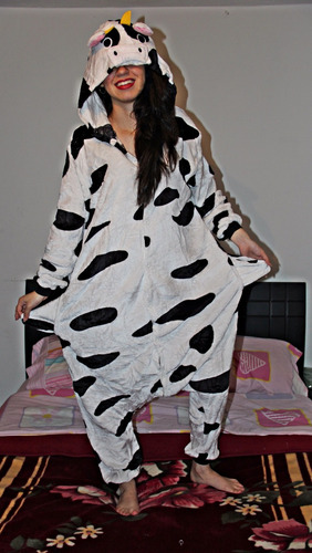 pijama disfraz unisex de vaca  (importadas) cosplay