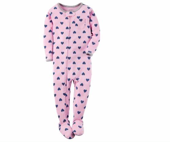 4938be906 Pijama Enterito Carter's Corazones. 100% Algodon Talle 12m - $ 650 ...