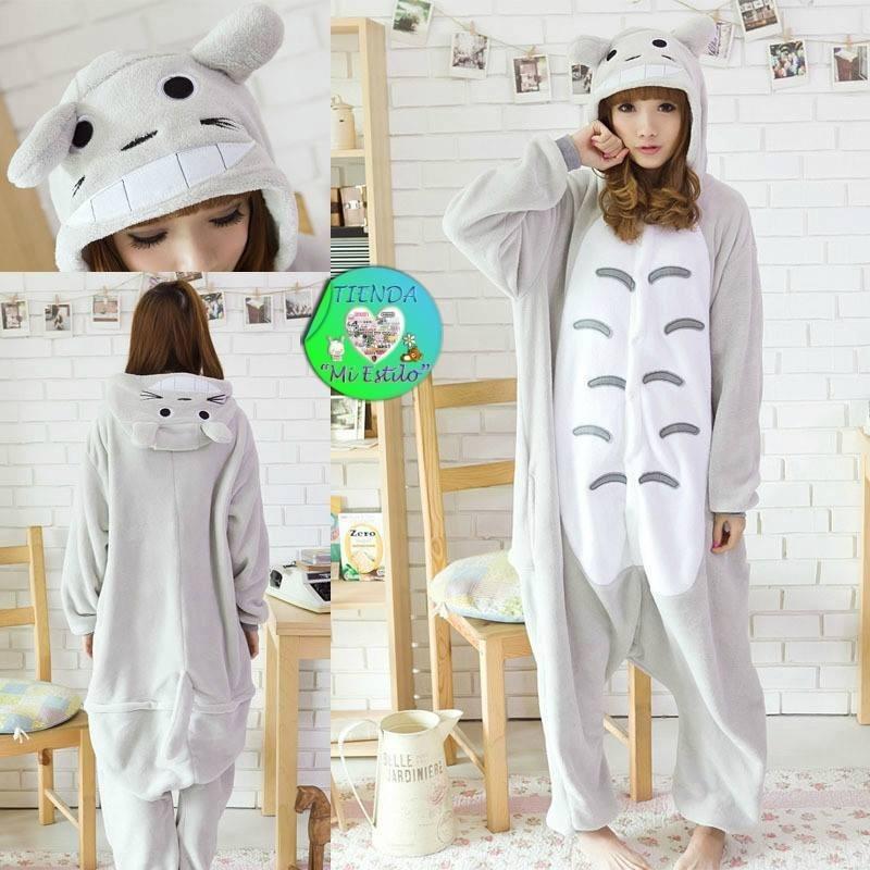Pijama Enterito Kigurumi Totoro Polar Adulto Envío Gratis - $ 17.000 ...
