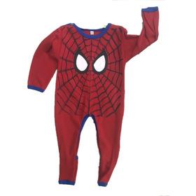 Pijama Enterito Pañalero Sin Pie Varón De Algodón