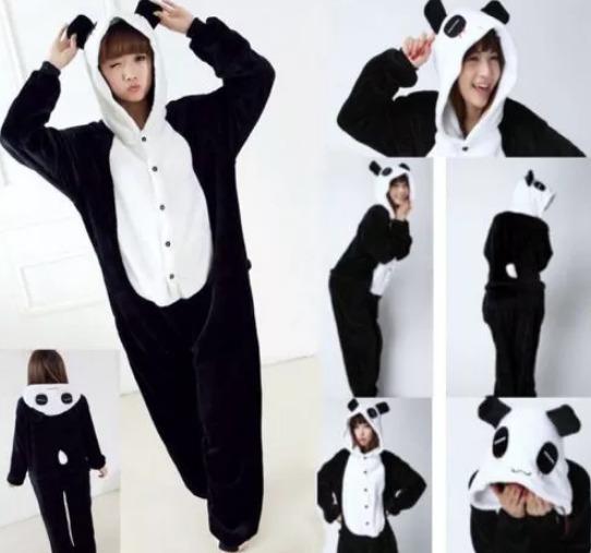 30d79c6a59 Pijama Enteros De Animales Panda Niños Y Adultos -   13.990 en ...