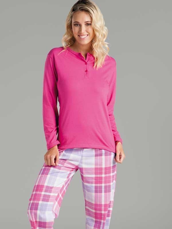 rendimiento superior primera vista promoción especial Pijama Escoces De Mujer- Invierno - Talles: 1/s Al 4/xl