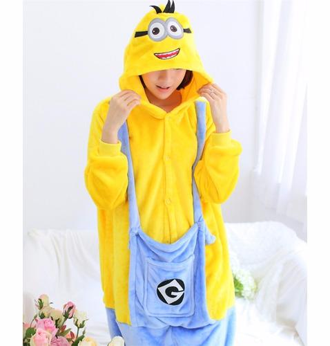 be5a610723 pijama fantasia kigurumi infantil minions pronta entrega. Carregando zoom.
