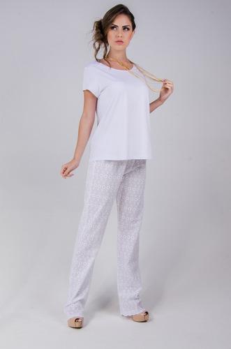 pijama feminino 100 % algodão ótima qualidade ! ref. 007