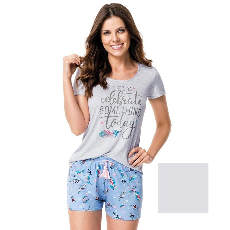 8f87a541b Pijama Feminino Adulto De Verão - Malwee - 43870 - R  75