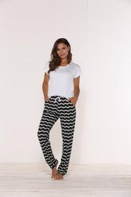 eadd5530dec6a5 Pijama Feminino Blusa C/ Calça Viscolycra Plus Size 50