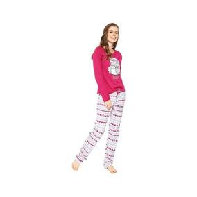 8230b044e2a7a5 Pijama Feminino Ml 14691 - Mensageiros Dos Sonhos - Pink