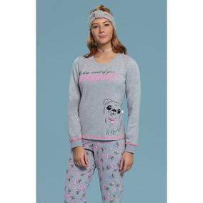 596c27a41e19cd Pijama Feminino Ml 14806 - Mensageiros Dos Sonhos - Mescla