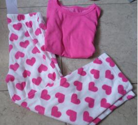 Nuevo Gap Niñas Esqueleto Halloween Rosa 2 Piezas Pijama 3 Años Pantalones Ropa De Niña (0-24 Meses)