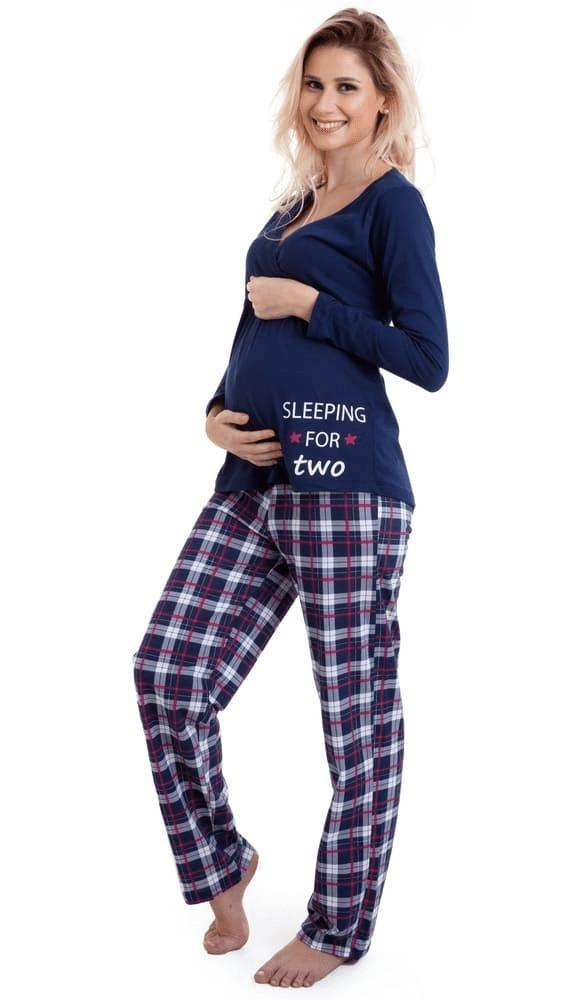 cecd05b379c3e7 Pijama Gestante De Amamentação Inverno Luna Cuore 18003