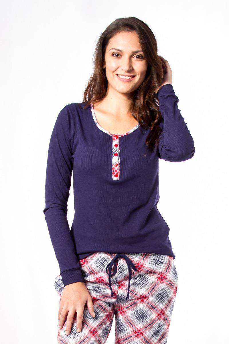 e4523c0a5e092b Pijama Gestante E Amamentação Feminino De Inverno Com Calça