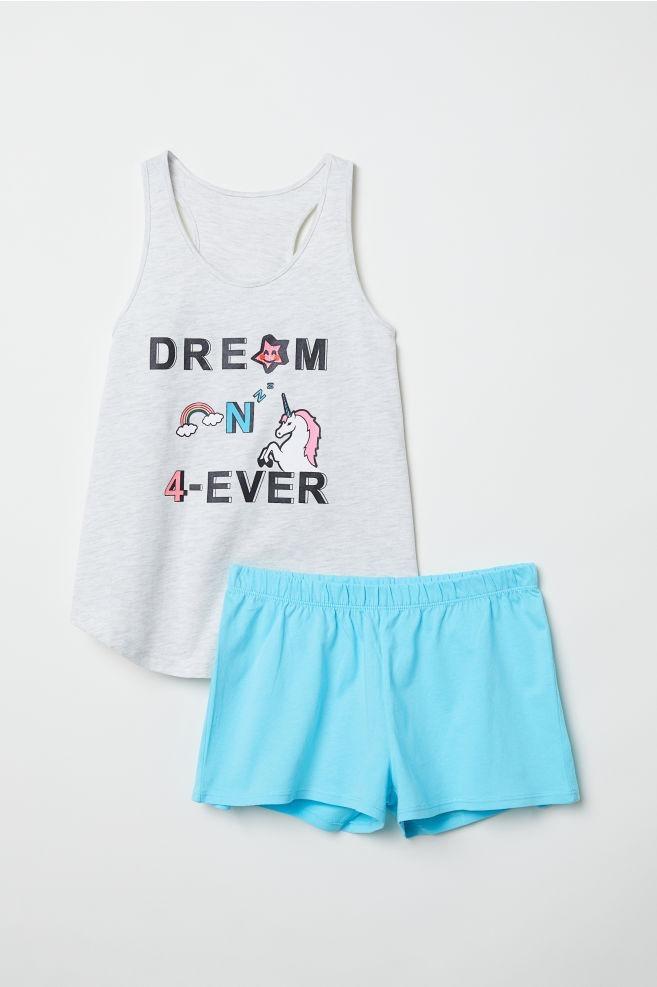 lista nueva nuevo estilo de vida características sobresalientes Pijama H&m 3 Piezas Unicornio