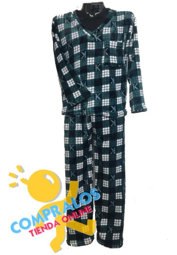 pijama hombre 2 unidades piel de durazno alta calidad