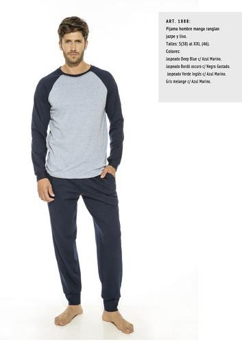 pijama hombre eyelit algodón talle s a super precio!!! $499
