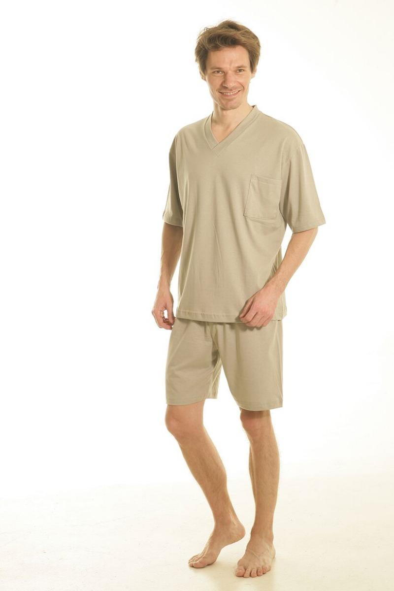 Cargando liso 100 zoom hombre algodón pijama jersey verano a4TfvqcZw 24bf46bddbfc