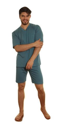 pijama hombre jersey liso 100% algodón verano