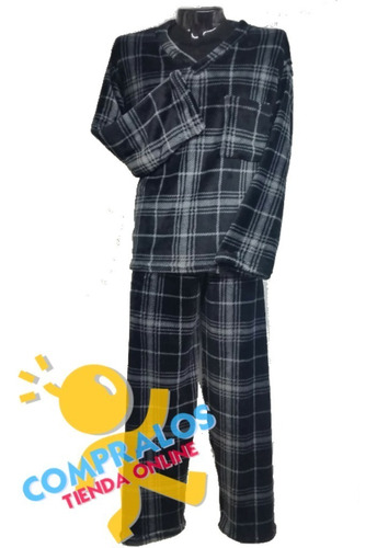 pijama hombre piel de durazno alta calidad 100% col