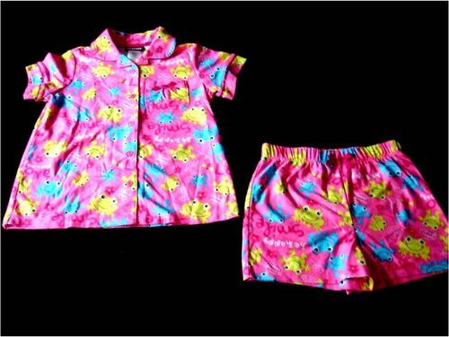 pijama importada niña ranitas joe boxer talla 5 disney