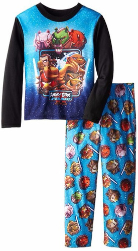 pijama importada niño angry bird  tallas 8