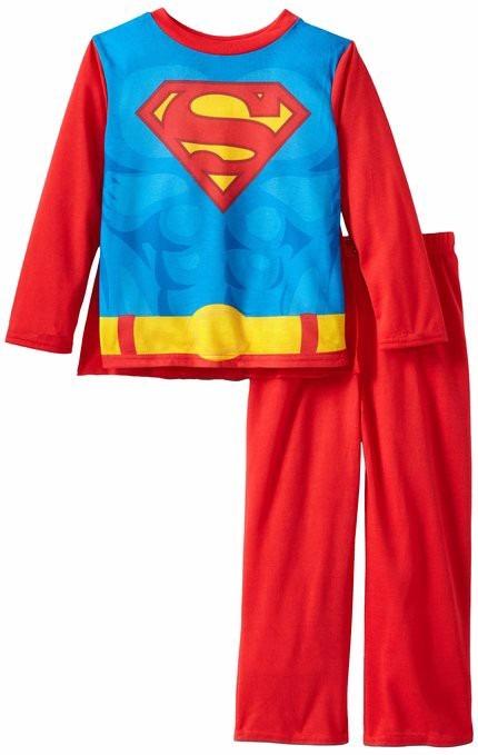 f4784cffd82 Pijama Importada Niño Superman Con Capa Tallas 8 - Bs. 70