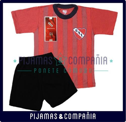 pijama independiente oficial equipo futbol niño verano 4al10