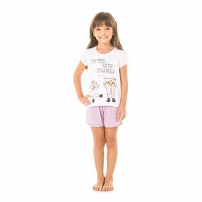 0f41bd9aa Pijama Menina 12 Anos Com no Mercado Livre Brasil